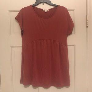Women's medium short sleeve top